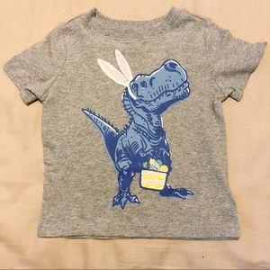 NWT 12-18 Old Navy Easter Dinosaur Shirt